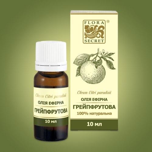 Олія ефірна грейпфрутова Flora Secret