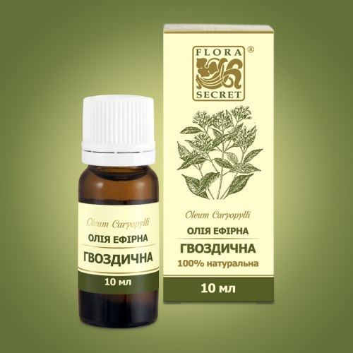 Олія ефірна гвоздична Flora Secret