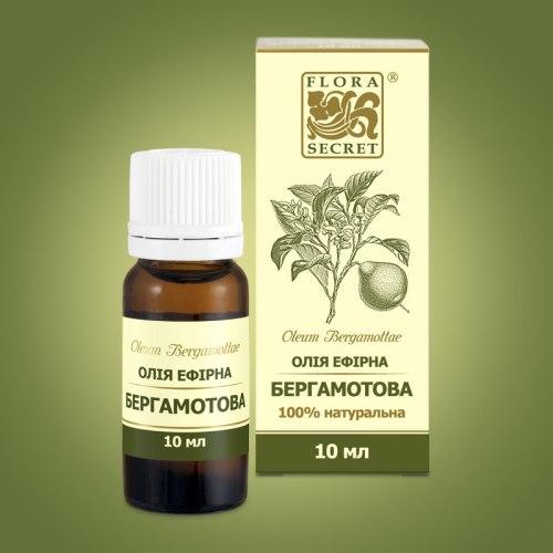 Олія ефірна бергамотова Flora Secret 10 мл