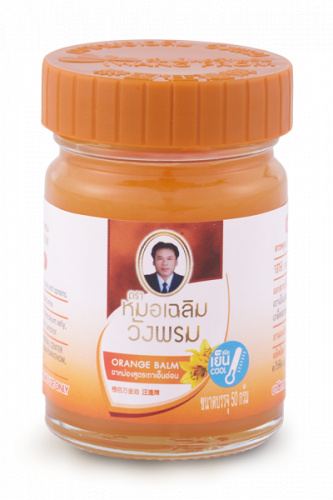 Помаранчевий бальзам WANG PROM 50 гр