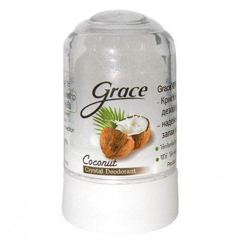 Дезодорант з кокосом Grace Crystal 70г