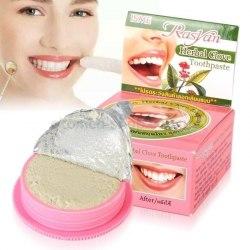 Трав'яна відбілювальна зубна паста з гвоздикою Herbal Clove Isme Rasyan 25 г
