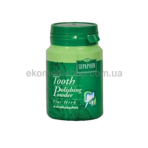 Відбілюючий зубний порошок на основі тайських трав Rochjana 90 г