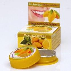 Відбілююча зубна паста з екстрактом манго Rochjana 30 г