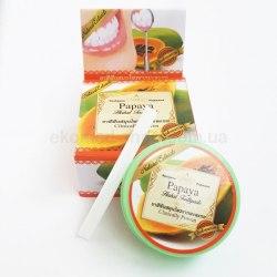 Тайська зубна паста з екстрактом папайї Rochjana 30г