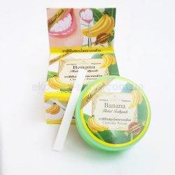 Тайська зубна паста з екстрактом банана Rochjana 30 г
