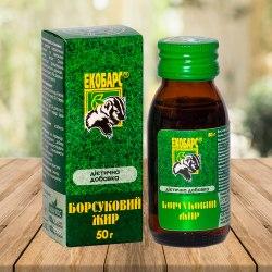 Борсуковий жир ЕКОБАРС 50 г