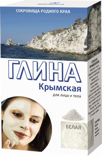 Глина біла Кримська Фітокосметик 100 г
