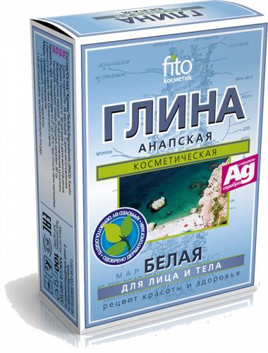 Фіто Глина біла Анапська Фітокосметик 100 г
