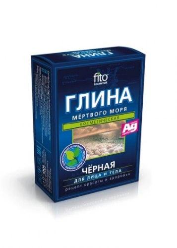 Фіто Глина чорна з мінералами Мертвого моря Фітокосметик 100 г
