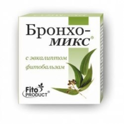 Фітобальзам «Бронхо-Мікс з евкаліптом» Фітопродукт 20 мл