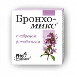 Фітобальзам «Бронхо-Мікс з чебрецем» Фітопродукт 20 мл