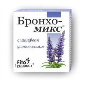 Фітобальзам «Бронхо-Мікс з шавлією» Фітопродукт 20 мл