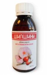 Фітосироп шипшини збагачений вітамінами Фітопродукт 100 мл