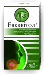 Спрей «Евкавітол» для горла і ротової порожнини Фітопродукт 30 мл