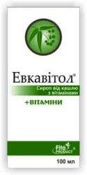 Сироп від кашлю «Евкавітол» Фітопродукт 100 мл