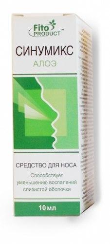 Спрей «Сінумікс з алое» Фітопродукт 10 мл