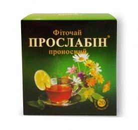 Фіточай № 2 Прослабін Фітопродукт 1,5 г № 20
