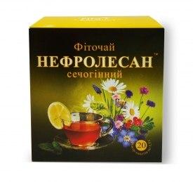 Фіточай №6 Нефролесан (сечогінний) Фітопродукт 1,5 гр №20