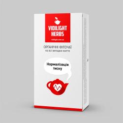 Фіточай Vidilight Herbs Нормалізація тиску Золота куля 3 г № 20