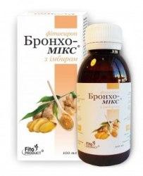 Фітосироп «Бронхо-Мікс з імбиром» (УЦІНКА) Фітопродукт 100 мл