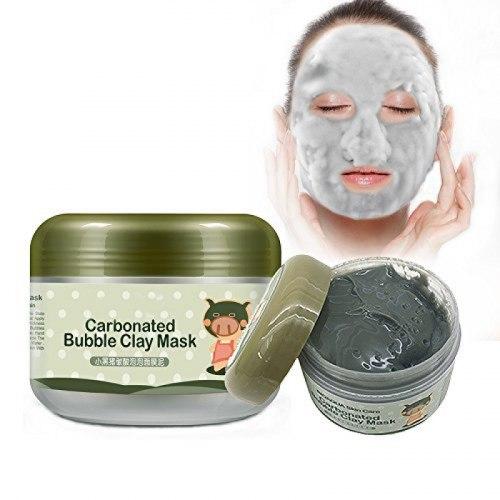 Маска для обличчя киснева бульбашкова очищаюча і відлущувальна BIOAQUA 100 мл