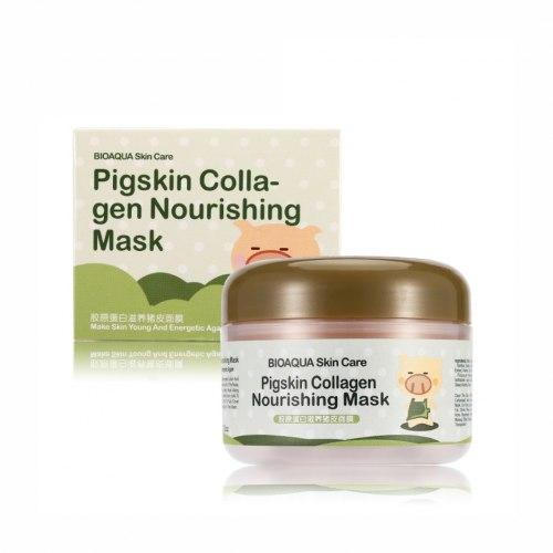 Маска для обличчя з колагеном Bioaqua 100 мл