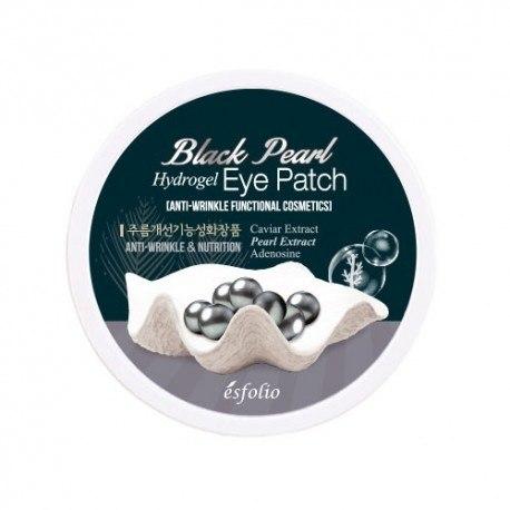 Гідрогелеві патчі з чорним перлами Esfolio 60 шт