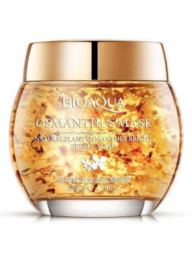 Органічна маска для обличчя з пелюстками османтусу BIOAQUA 120 мл