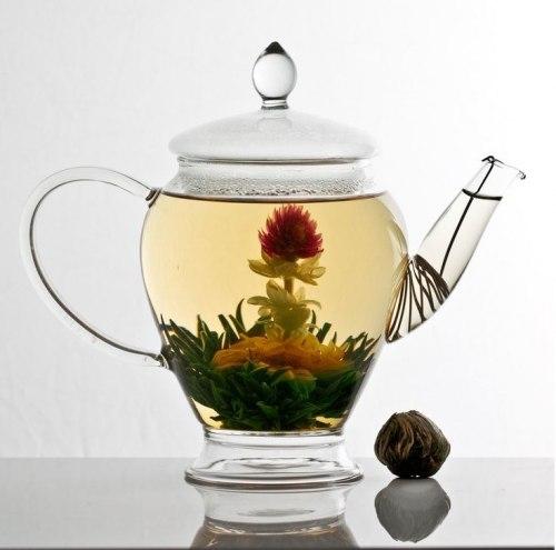 Зв'язаний чай із бутонами Лотоса і Хризантеми 30 шт