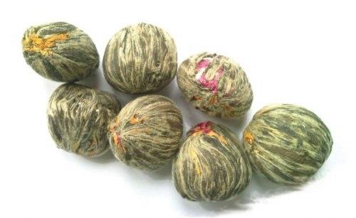 Зв'язаний чай із бутонами Лотоса і Хризантеми 10 шт