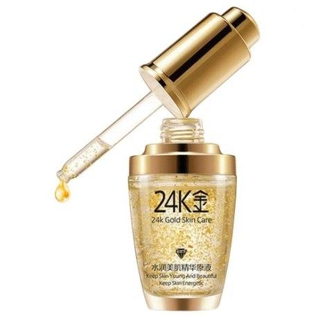 Антивікова сироватка для обличчя 24K Gold Skin Care BIOAQUA 30 мл