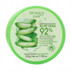 Гель алое вера для обличчя і тіла Aloe Vera 92% Soothing Gel BIOAQUA 220 г