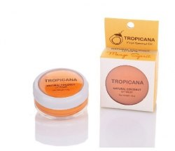 """Бальзам для губ """"Аромат манго"""" з кокосовою олією Тропікана Tropicana 10 г"""