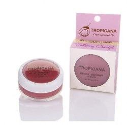 """Бальзам для губ """"Весела Шовковиця"""" з кокосовим маслом Тропікана Tropicana 10 г"""