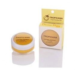 """Бальзам для губ """"Щасливий банан"""" з кокосовою олією Тропікана Tropicana 10 г"""