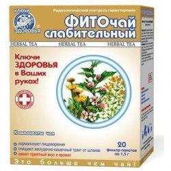 Фіточай №19 фіто проносний Ключі здоров'я 20х1,5 г