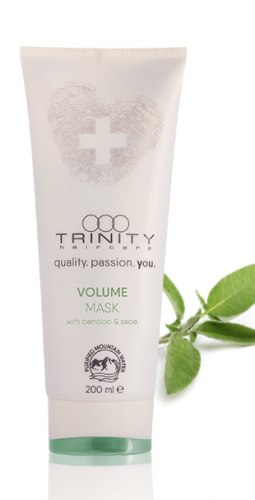 Маска для придания объема волосам / volume mask Trinity