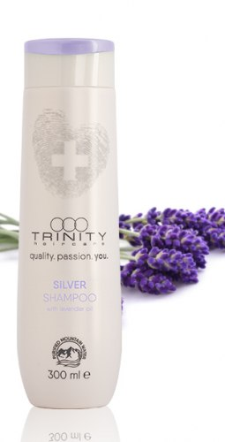 Серебряный шампунь для окрашенных и осветленных волос / blonde silver shampoo Trinity