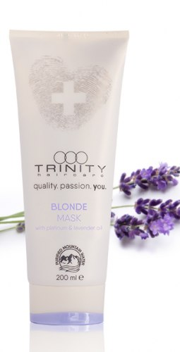 Маска для окрашенных и осветленных волос / blonde mask Trinity