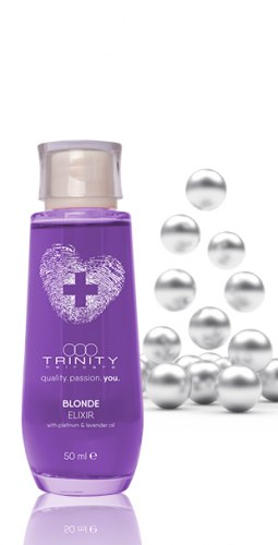 Эликсир для окрашенных и осветленных волос / blonde elixir Trinity
