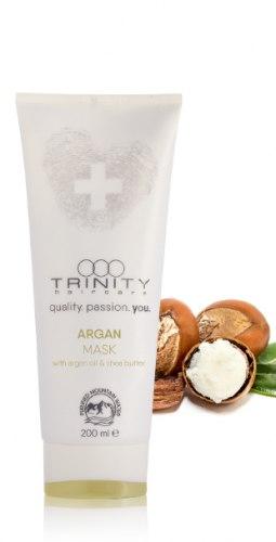 Маска для всех типов волос с содержанием арганового масла /argan oil mask Trinity