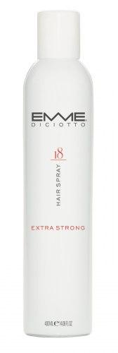 Лак для волос экстра сильной фиксации/18 HAIR SPRAY EXTRA STRONG Emmediciotto