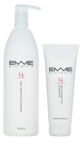 Шампунь для окрашенных волос/14 SHAMPOO COLORED HAIR Emmediciotto