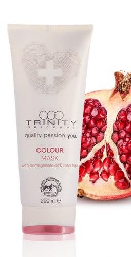 Маска для поддержания цвета окрашенных волос / color mask Trinity