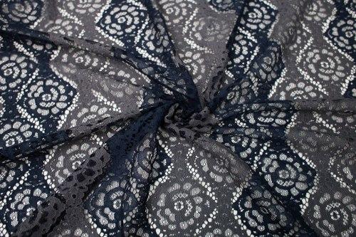Кружево (88389) Состав (65% полиэфирное волокно, 35% хлопок) Ширина: 150 см