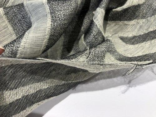 Лен (97800) Состав ( 46% лен, 16% шелк, 35% хлопок, 3% полиэфирное волокно) Ширина 145см