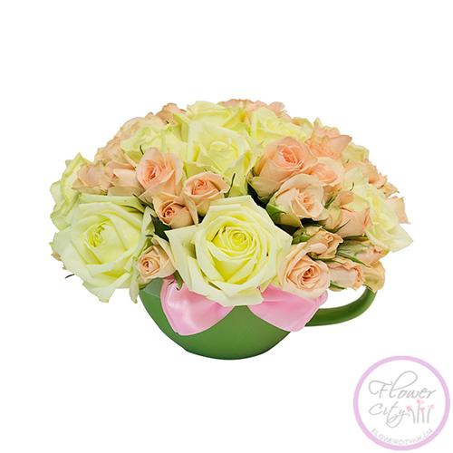 Чашка с розами!
