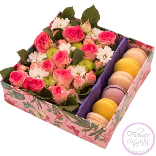 """Подарочная коробка """"Из Франции с любовью..."""""""