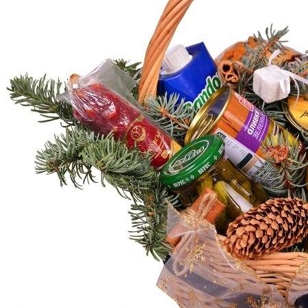 "Подарочная корзина ""Новогодняя"""
